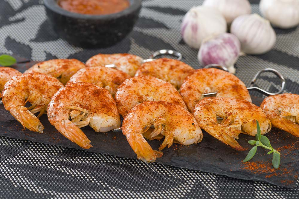 prawns-and-garlic